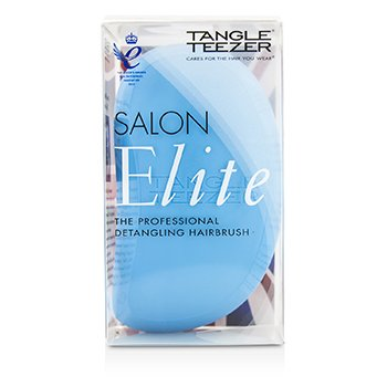 Tangle Teezer Salon Elite Professional Detangling Hair Brush - Blue Blush (For Wet & Dry Hair)