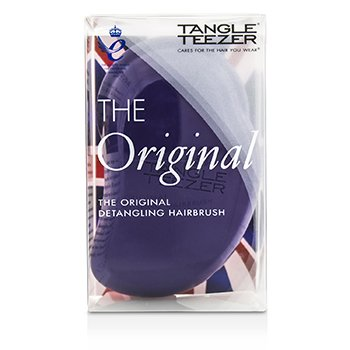 Tangle Teezer The Original Detangling Hair Brush - # Plum Delicious (For Wet & Dry Hair)