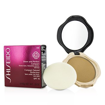 Shiseido Sheer & Perfect Compact Foundation SPF15 - #I60 Natural Deep Ivory
