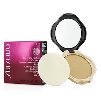 Shiseido Sheer & Perfect Compact Foundation SPF15 - #O40 Natural Fair Ochre