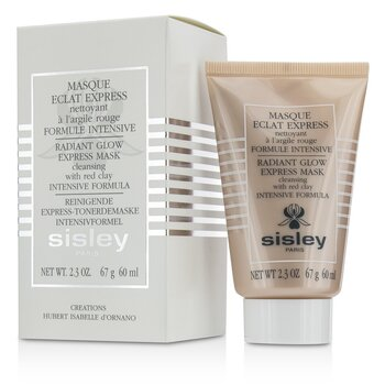 Sisley Radiant Glow Express Mask With Red Clays - Intensive Formula