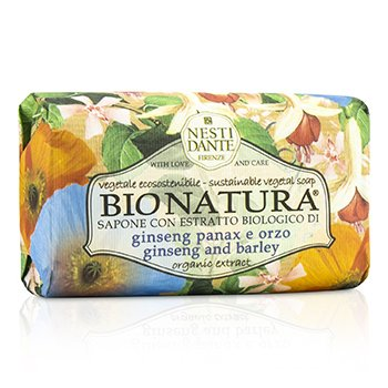 Nesti Dante Bio Natura Sustainable Vegetal Soap - Ginseng & Barley