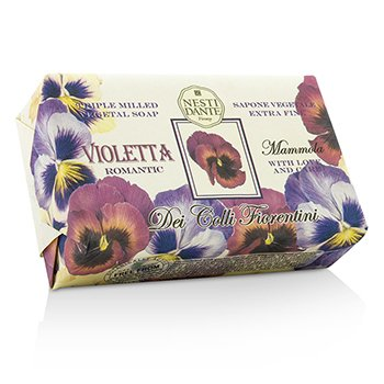 Nesti Dante Dei Colli Fiorentini Triple Milled Vegetal Soap - Sweet Violet