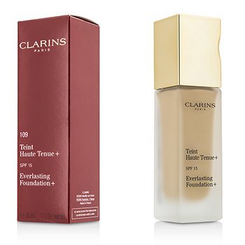 Clarins Everlasting Foundation+ SPF15 - # 109 Wheat