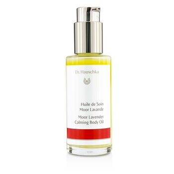 Dr. Hauschka Moor Lavender Calming Body Oil  - Soothes & Protects