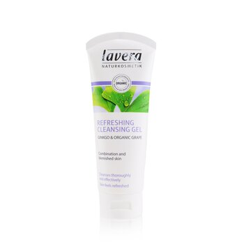 Lavera Ginkgo & Organic Grape Refreshing Cleansing Gel - Combination & Blemished Skin