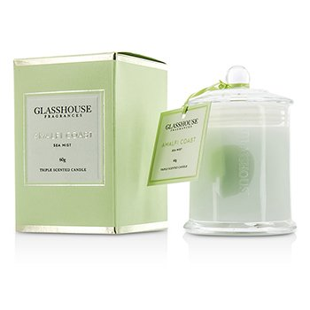 Glasshouse Triple Scented Candle - Amalfi Coast (Sea Mist)