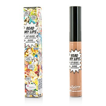 TheBalm Read My Lips (Lip Gloss Infused With Ginseng) - #Snap!