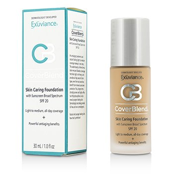 Exuviance CoverBlend Skin Caring Foundation SPF20 - # Honey Sand