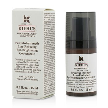 Kiehls Dermatologist Solutions Powerful-Strength Line-Reducing Eye-Brightening Concentrate