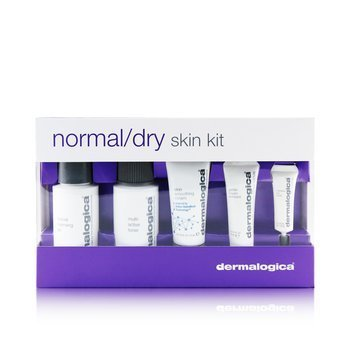 Dermalogica Normal/ Dry Skin Kit: Cleanser + Toner + Smoothing Cream + Exfoliant + Eye Reapir