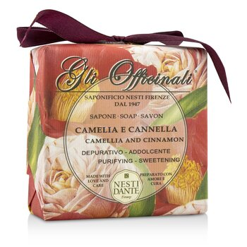 Nesti Dante Gli Officinali Soap - Camellia & Cinnamon - Purifying & Sweetening