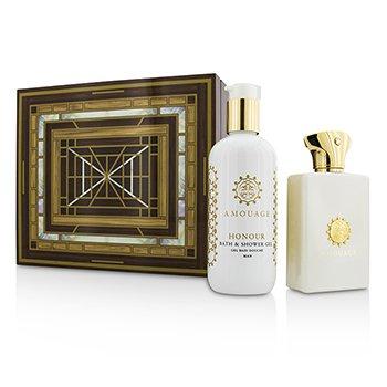 Amouage Lyric Coffret Eau De Perfume Spray 100ml Bath Shower