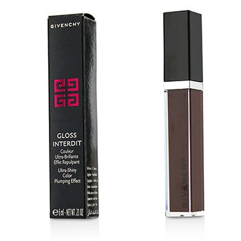 Givenchy Gloss Interdit Ultra Shiny Color Plumping Effect - # 31 Lune Carmin