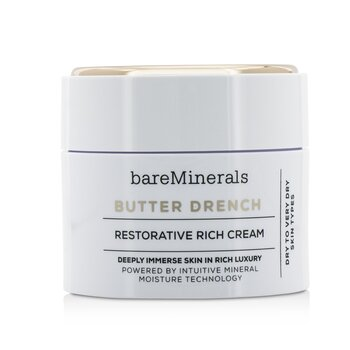 Bare Escentuals Butter Drench Restorative Rich Cream - Dry To Very Dry Skin Types