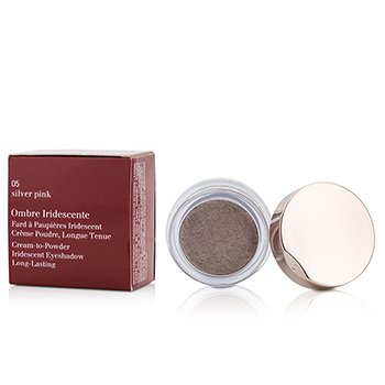 Clarins Ombre Iridescente Cream To Powder Iridescent Eyeshadow - #05 Sliver Pink