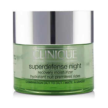Clinique Superdefense Night Recovery Moisturizer - For Combination Oily To Oily