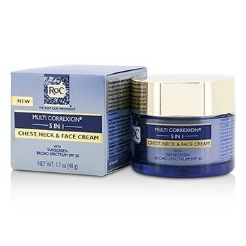 ROC Multi Correxion 5 in 1 Chest, Neck & Face Cream With Sunscreen Broad Spectrum SPF30
