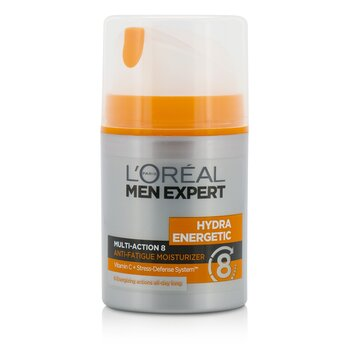 LOreal Men Expert Hydra Energetic Multi-Action 8 Anti-Fatigue Moisturizer