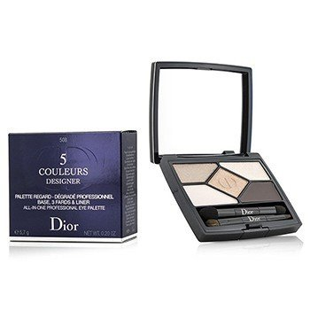 Christian Dior 5 Color Designer All In One Professional Eye Palette - No. 508 Nude Pink Design