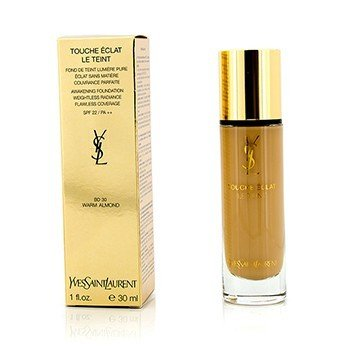 Yves Saint Laurent Touche Eclat Le Teint Awakening Foundation SPF22 - #BD30 Warm Almond