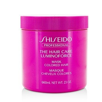 Shiseido The Hair Care Luminoforce Mask (Colored Hair)