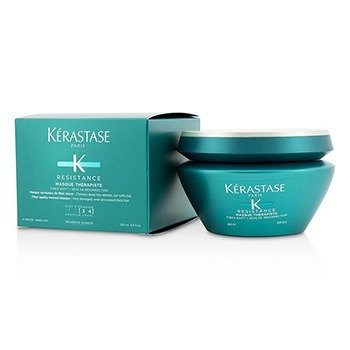 Kerastase Resistance Masque Therapiste Fiber Quality Renewal Masque - For Very Damaged, Over-Processed Thick Hair (New Packaging)