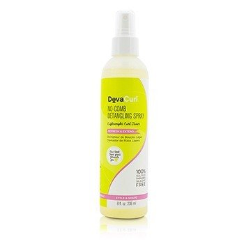 DevaCurl No-Comb Detangling Spray (Lightweight Curl Tamer - Refresh & Extend)