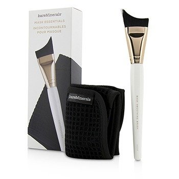 BareMinerals Mask Essentials - Smoothing Brush And Removal Cloth