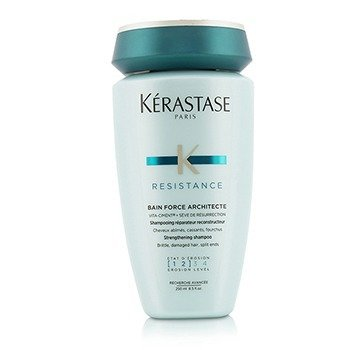 Kerastase Resistance Bain Force Architecte Strengthening Shampoo (For Brittle, Damaged Hair, Split Ends)