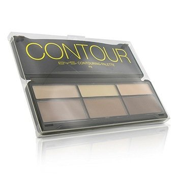 BYS Contour Palette (3x Contouring Powder, 3x Highlighting Powder)