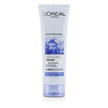 LOreal Sea-Salt Whip Foam Cleanser With Bergamot Extract - For Combination Skin