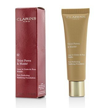 Clarins Pore Perfecting Matifying Foundation - # 02 Nude Beige