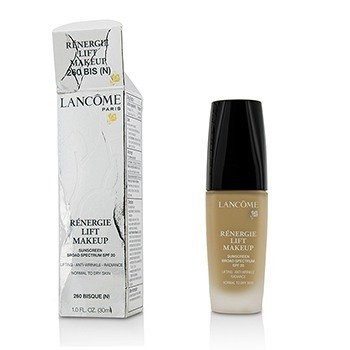 Lancome Renergie Lift Makeup SPF20 - # 260 Bisque (N) (Box Slightly Damaged, US Version)