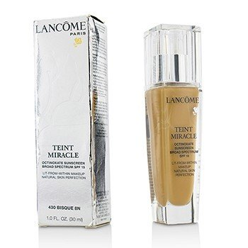 Lancome Teint Miracle Natural Skin Perfection SPF 15 - # 430 Bisque 8N (Box Slightly Damaged, US Version)