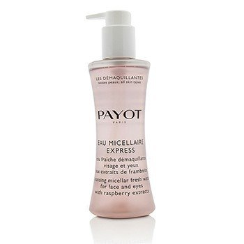 Payot Les Demaquillantes Eau Micellaire Express - Cleansing Micellar Fresh Water For Face & Eyes