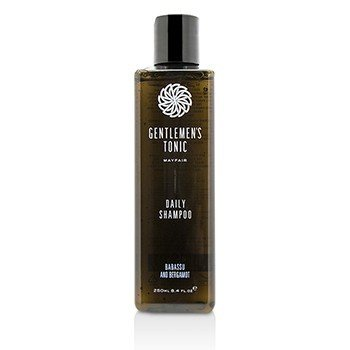 Gentlemens Tonic Babassu and Bergamot Daily Shampoo