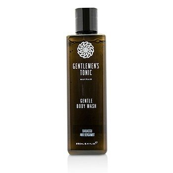 Gentlemens Tonic Babassu And Bergamot Gentle Body Wash