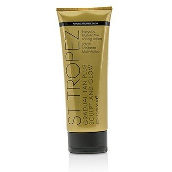 St. Tropez Gradual Tan Plus Sculpt And Glow Everyday Multi-Active Toning Lotion 01474