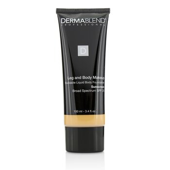 Dermablend Leg and Body Make Up Buildable Liquid Body Foundation Sunscreen Broad Spectrum SPF 25 - #Light Sand 25W