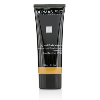 Dermablend Leg and Body Make Up Buildable Liquid Body Foundation Sunscreen Broad Spectrum SPF 25 - #Tan Honey 45W