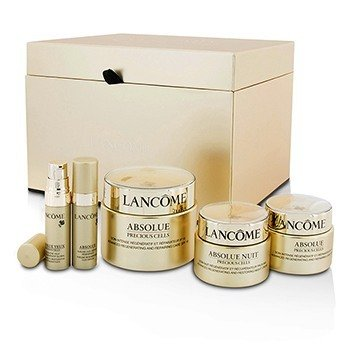 Lancome Absolue Precious Cells Set: Repairing Care SPF 15 50ml&15ml + Night Cream 15ml + Oleo-Serum 5ml + Eye Concentrate 5ml
