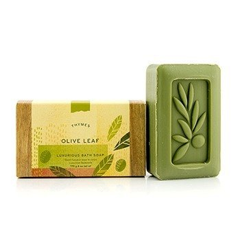 Thymes Olive Leaf Luxurious Bath Soap
