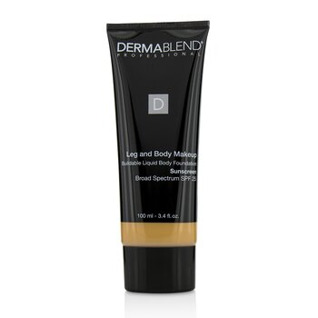 Dermablend Leg and Body Make Up Buildable Liquid Body Foundation Sunscreen Broad Spectrum SPF 25 - #Light Beige 35C
