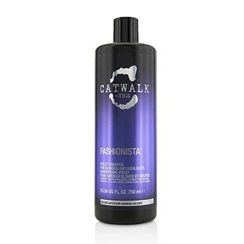 Tigi Catwalk Fashionista Violet Shampoo (For Blondes and Highlights)