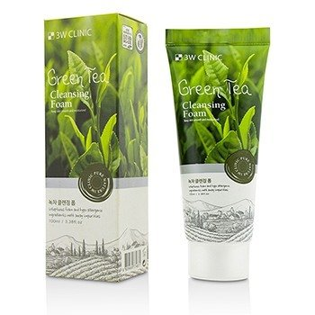3W Clinic Cleansing Foam - Green Tea