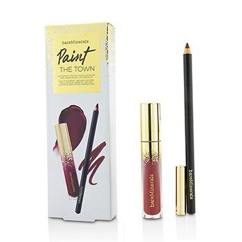 BareMinerals Paint The Town Lip Set