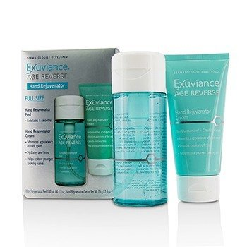 Exuviance Age Reverse Hand Rejuventor Set: Hand Rejuventor Peel + Hand Rejuventor Cream