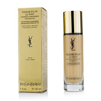 Yves Saint Laurent Touche Eclat Le Teint Radiance Awakening Foundation SPF22 - #BR40 Cool Sand