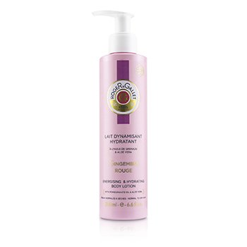 Roger & Gallet Gingembre Rouge Energising & Hydrating Body Lotion (with Pump)